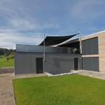 Automatisches Sonnensegel Terrasse Wohnhaus in Einsiedeln