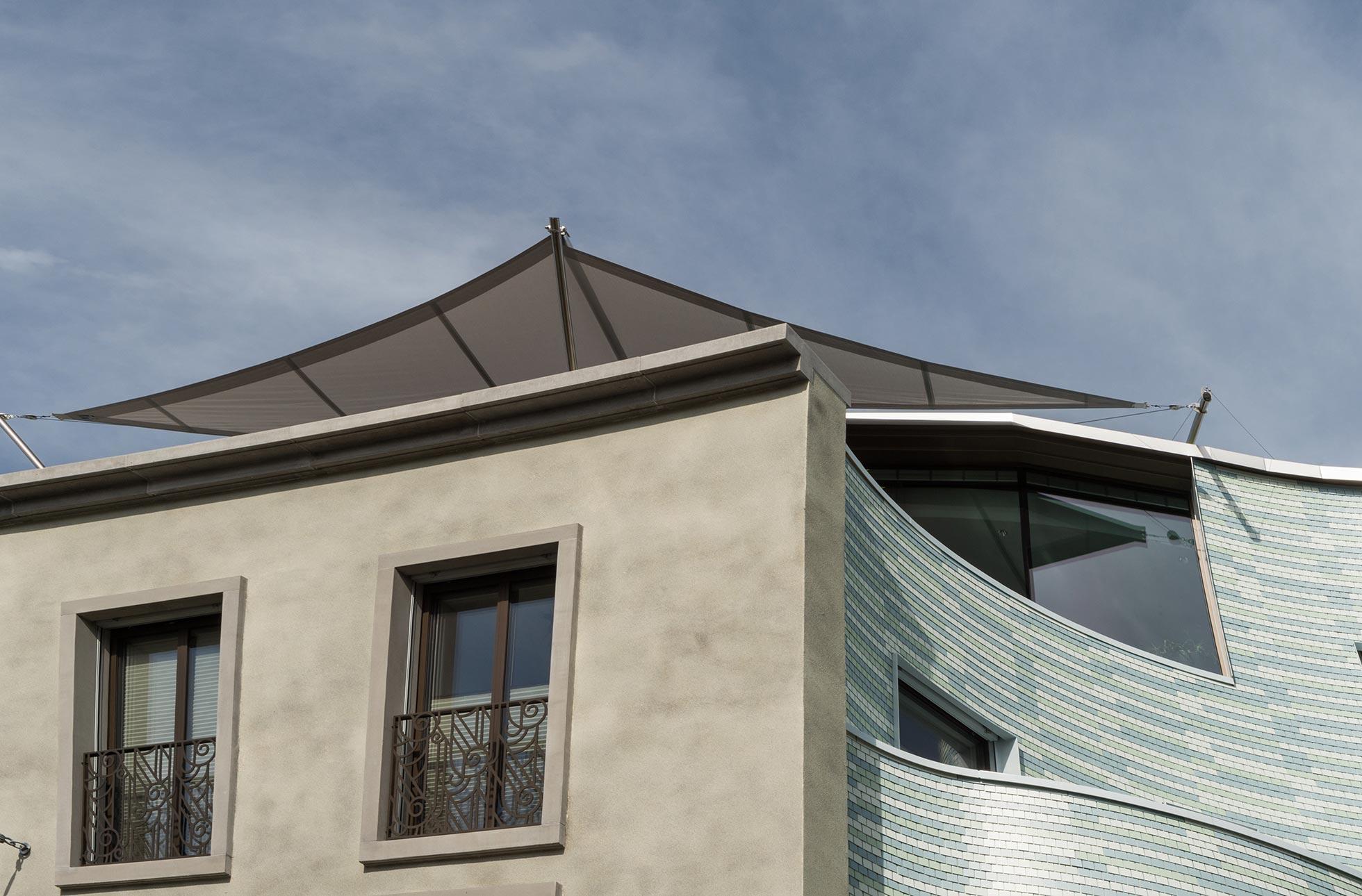 Sonnenschutz rollbar – MFH Einsiedeln