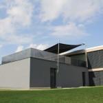 Filigrane Beschattung auf Dachterrasse in Einsiedeln 0979