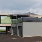 Automatisches Sonnensegel Wohnhaus in Einsiedeln