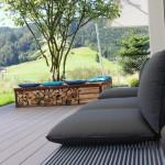 Lounge Möbel Modell Weiss EFH in Einsiedeln SZ