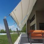 Sonnen- und Wettersegel, Villa in TG
