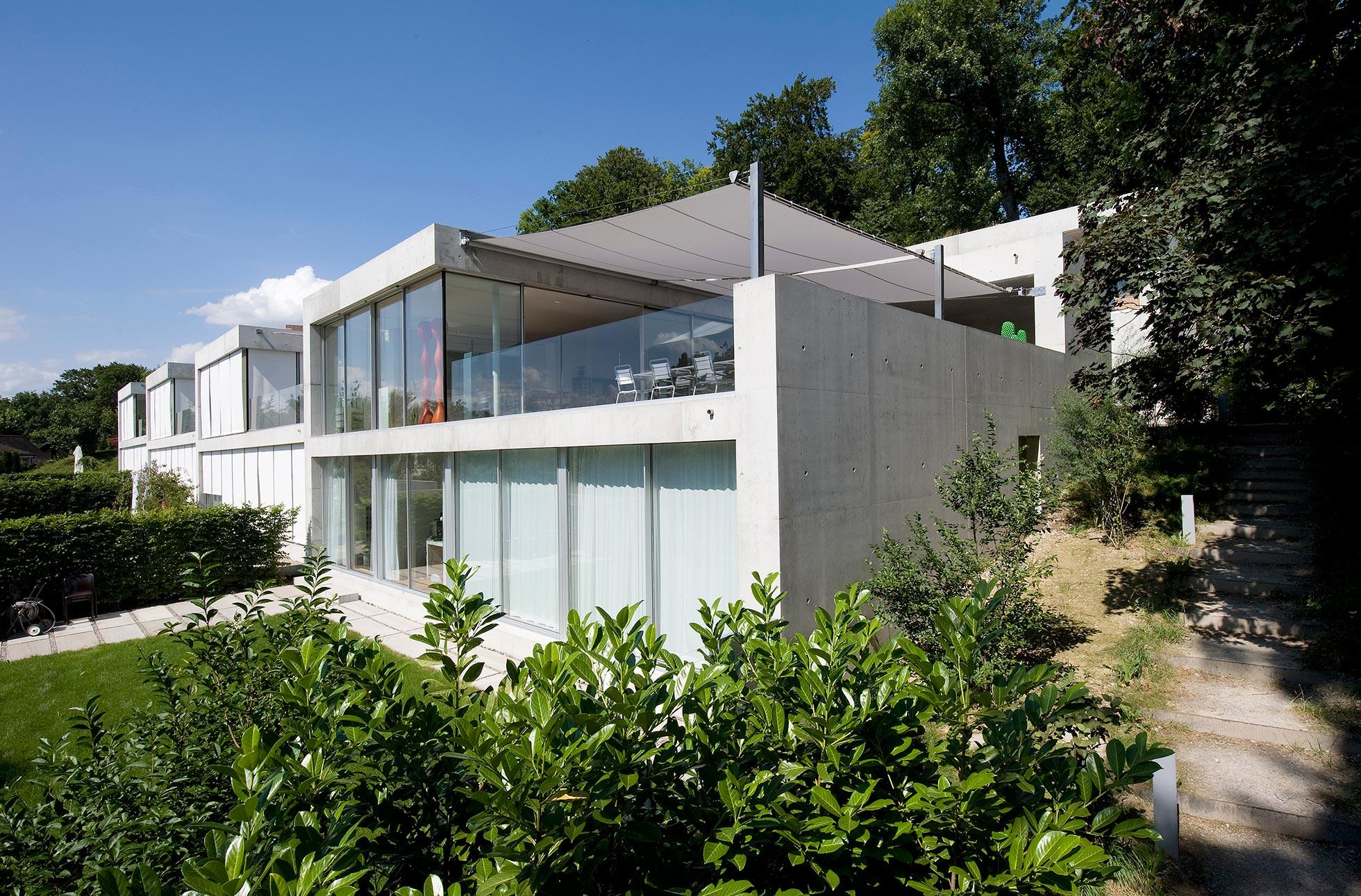 Sonnenschutz Siedlung Winterthur
