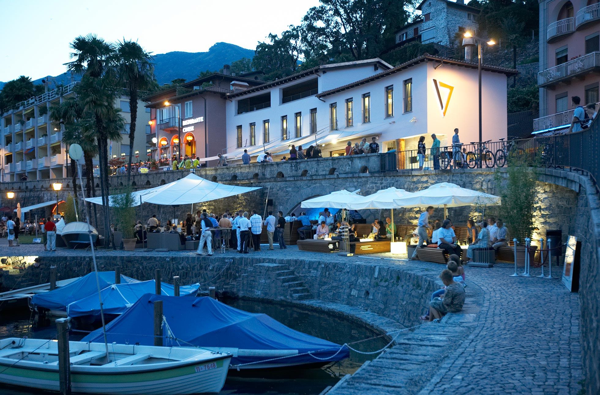 Sonnensegel Seven in Ascona