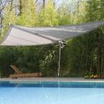 Elegantes Sonnensegel aufrollbar: Pool in Nyon VD 0694