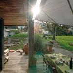 Automatisches Sonnensegel EFH am Zürichsee