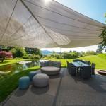 Elegant beschatteter Gartensitzplatz: Appenzell 3433