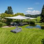 Filigranes Sonnensegel: Appenzell 3413