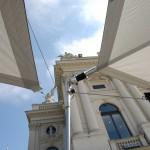 Sonnensegel Schweiz vorm Opernhaus Zürich - Bild 4