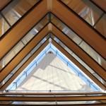 Automatisches Dreieck-Strahlensegel in Münchenstein