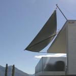 Automatisches Sonnensegel Ascona Ticino