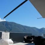 Exklusiver Sonnenschutz Terrasse in Ascona TI