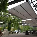 Elegant beschatteter Pausenplatz in Bülach 2459