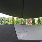 Sonnen- und Regenschutz über Chillpool EFH Solothurn SO