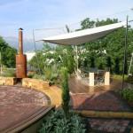 Automatische Sonnensegel Terrasse in Uetendorf
