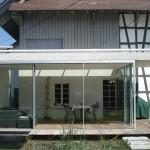 Sonnensegel rollbar: Wohnhaus in Albis ZG 1070