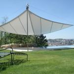 exklusives Sonnensegel aufrollbar: Garten in Fribourg FR 2978