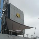 Sonnensegel wasserdicht McDonalds Crissier VD