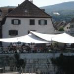 Sonnensegel wasserdicht in Dornach (Schweiz)