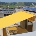 Flexibler Sonnenschutz: Sonnensegel Terrasse Einsiedeln
