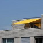 Flexibler Sonnenschutz: Sonnensegel Terrasse in Einsiedeln