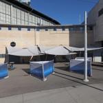 Sonnensegel als Sonnen- und Regenschutz in Soltis W96