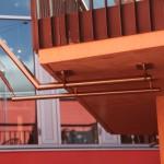 Sonnensegel an Fassade für Klinik Hirslanden ZH