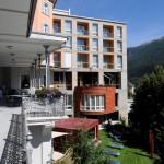 Sonnensegel Hotel Belvedère