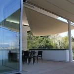 Exklusiver rollbarer Sonnenschutz für Terrasse in Genf