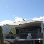 Automatisches Sonnensegel Cantilever, Ascona TI
