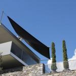 Automatisches Sonnensegel in Ascona Ticino