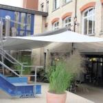 Elegant beschattet: Berufsbildungszentrum Zürich1849