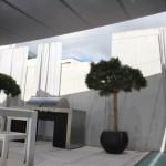 Rollsegel und Outdoorvorhänge Villa Horgen ZH