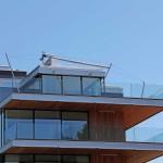 Sonnensegel schmiegt sich in architektonisches Erscheinungsbild