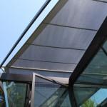 Botanischer Garten Grüningen: automatische Sonnensegel