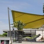 Elegantes Sonnensegel über Sitzplatz: Limmattal 4