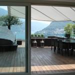 Sonnensegel Mehrfamilienhaus in Lugano