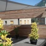 Automatische Sonnensegel Terrasse in Martigny