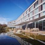 Modern Times Hotel mit 3-fach Sonnensegel, Vevey VD