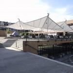 Sonnensegel Schweiz vorm Opernhaus Zürich - Bild 2