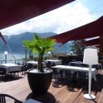 Automatisches Sonnensegel Terrasse Lugano
