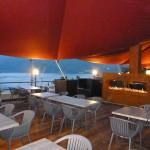 Sonnensegel für Gastronomie am Lugano See