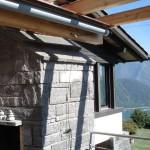 Sonnensegel für Terrasse in San Salvatore