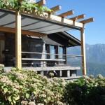Exklusiver rollbarer Sonnenschutz für Terrasse in San Salvatore