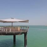 Automatisches Sonnensegel, Bar in Dubai