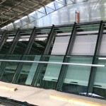 Glashausbeschattung Innen