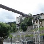 Strahlensegel Hotel Belvedere Scuol 8432