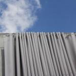 Seilaufhängung für Outdoorvorhang