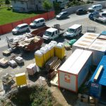 Baustelleninstallation