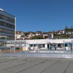 Spital Uznach, Neubau und Altbau